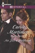 carole mortimer's not just a wallflower